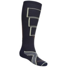 Lorpen Tri-Layer Light Cushion Ski Socks - PrimaLoft®, Merino Wool (For Men and Women) in Navy Blue - 2nds