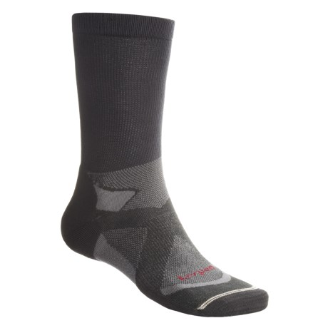 Lorpen Tri-Layer Light Hiker Socks - 2-Pack, Lightweight, Crew (For Men) in Charcoal