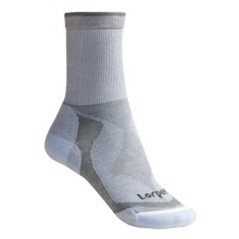 Lorpen Tri Layer Light Hiker Socks - 2-Pack, TENCEL®/CoolMax® (For Women) in Light Blue/Grey - 2nds