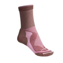 Lorpen Tri-Layer Light Hiking Socks (For Women) in Mauve/Pink - 2nds