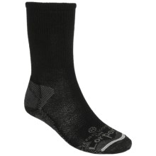 Lorpen Uniform Socks - Merino Wool, Crew (For Men) in Black - Closeouts