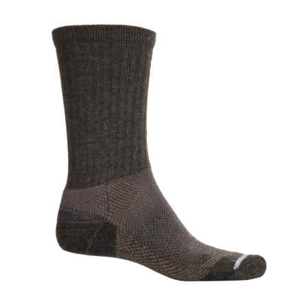 Lorpen WDST Work STOP Technology Socks - Crew (For Men) in Anthracite/Gray - Closeouts