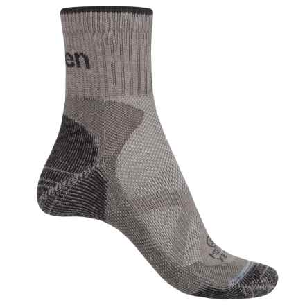 Lorpen Xtreme Bike Trail Modal Socks - Ankle (For Men and Women) in Gray - Closeouts