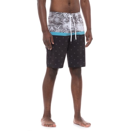 Lost Culture Clash Boardshorts (For Men) in Black