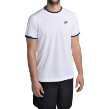 Lotto Aydex Shirt - Short Sleeve (For Men) in White/Cruise - Closeouts