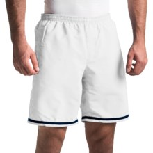 """Lotto Aydex Shorts - 9"""" (For Men) in White - Closeouts"""
