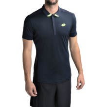 Lotto Carter Polo Shirt - Short Sleeve (For Men) in Deep Navy - Closeouts