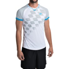 Lotto Conner Crew Neck Shirt - Short Sleeve (For Men) in White/Maldive - Closeouts