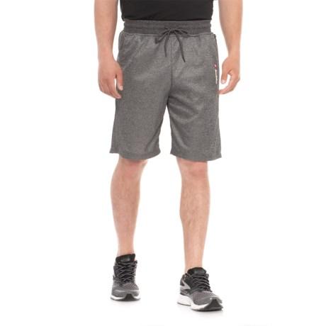 Lotto Fleece Shorts (For Men) in Black