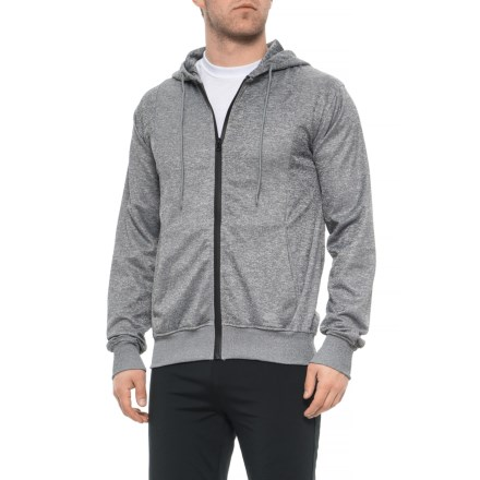 5582e11b Lotto Full-Zip Hoodie (For Men) in Heather Grey - Closeouts