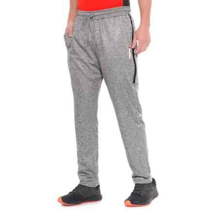 3059e4c2ad80 Lotto Mesh Overlay Fleece Joggers (For Men) in Grey - Closeouts
