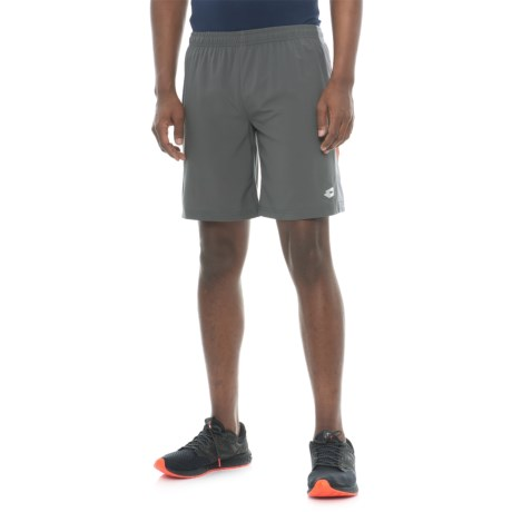 Lotto Soccer Shorts - Built-In Liner Shorts (For Men) in Charcoal/Orange Boxer