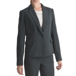 Louben Career Blazer (For Women) in Slate