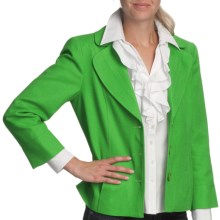 Louben Classic Forever Jacket (For Women) in Golf Green - Closeouts