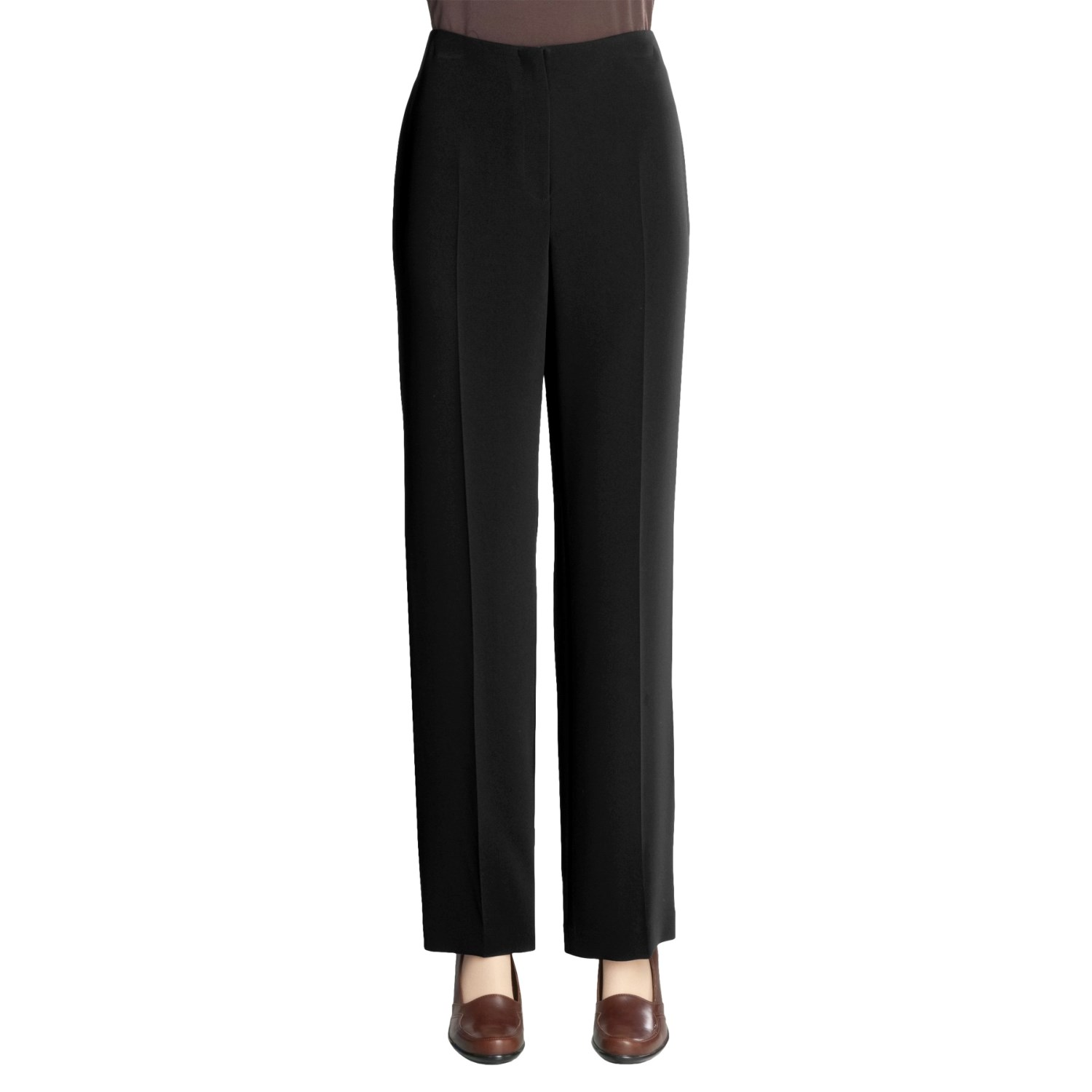 Awesome Pleated Front Dress Pants  Viscose For Women