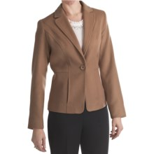 Louben Luxe Wool-Cashmere Blazer (For Women) in Biscotti - Closeouts