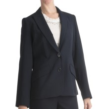 Louben Narrow-Lapel Blazer (For Women) in Navy - Closeouts