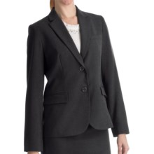Louben Narrow-Lapel Blazer - Two Button (For Women) in Grey - Closeouts