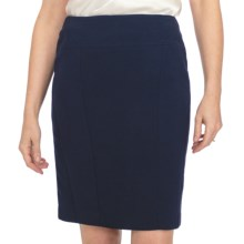 Louben Slim Skirt - Contour Panel (For Women) in Navy - Closeouts