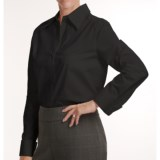 Louben Stretch Cotton Shirt - French Cuffs, Long Sleeve (For Women)