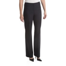 Louben Stretch Pants - Low Rise, Modern Fit (For Women) in Grey - Closeouts