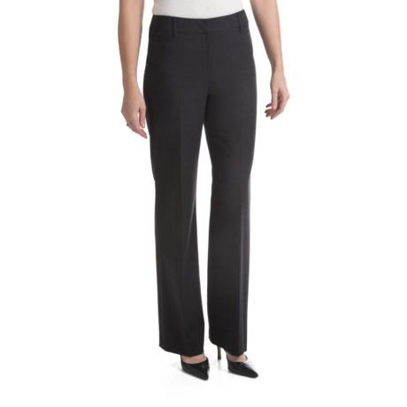 Louben Stretch Pants - Low Rise, Modern Fit (For Women) in Grey