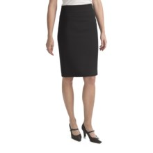 Louben Wide-Band Skirt (For Women) in Black - Closeouts