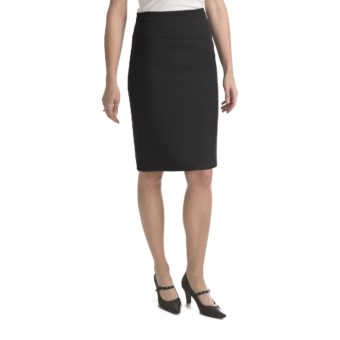 Louben Wide-Band Skirt (For Women) in Black