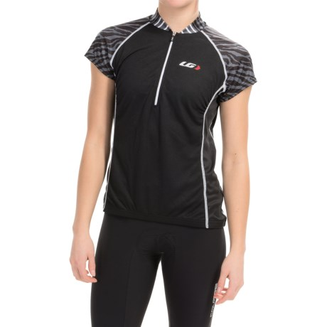 Louis Garneau Astoria 2 Cycling Jersey UPF 30, Zip Neck, Short Sleeve (For Women)