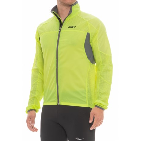 Louis Garneau Blink RTR Cycling Jacket (For Men) in Bright Yellow