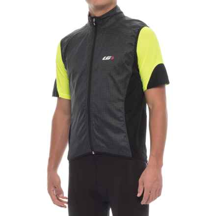 Louis Garneau Blink RTR Cycling Vest (For Men) in Black - Closeouts