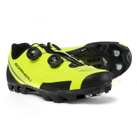 Louis Garneau Copper T-FLEX Cycling Shoes - SPD (For Men) in Yellow/Black