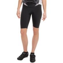 Louis Garneau Course Race 2 Bike Shorts (For Women) in Black/White - Closeouts