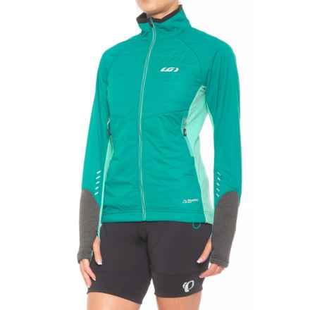 Louis Garneau Cove Hybrid Polartec® Alpha® Jacket - Insulated (For Women) in Cricket - Closeouts