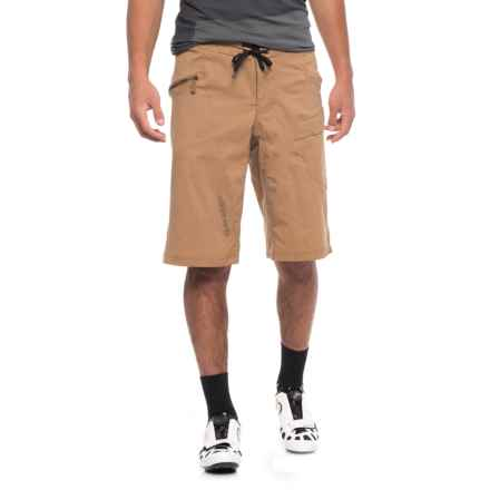Louis Garneau Derby 3-in-1 Bike Shorts (For Men) in Toasted Coconut - Closeouts