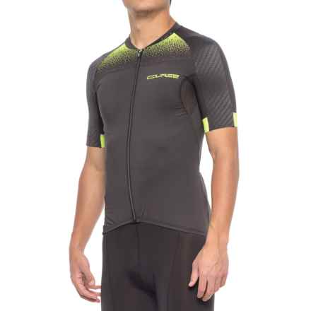 Louis Garneau Elite M-2 RTR Cycling Jersey - UPF 50, Short Sleeve (For Men) in Black/Bright Yellow - Closeouts