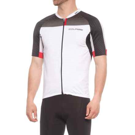 Louis Garneau Elite M-2 RTR Cycling Jersey - UPF 50, Short Sleeve (For Men) in Black/White - Closeouts