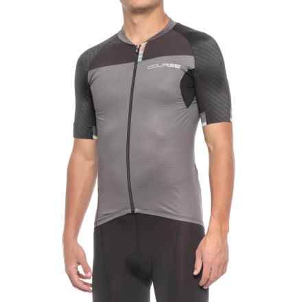 Louis Garneau Elite M-2 RTR Cycling Jersey - UPF 50, Short Sleeve (For Men) in Gray/Black - Closeouts