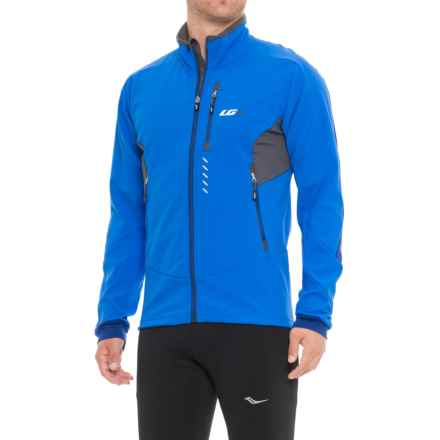 Louis Garneau Enertec Cycling Jacket (For Men) in Curacao Blue - Closeouts
