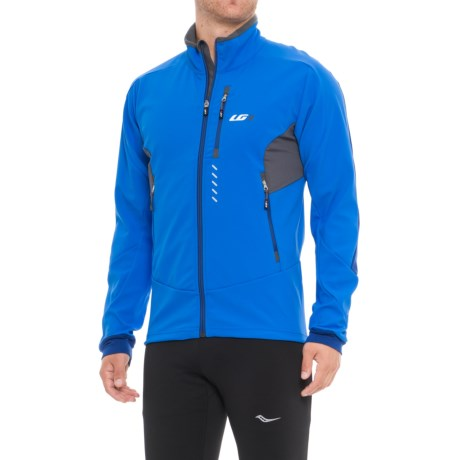 Louis Garneau Enertec Cycling Jacket (For Men) in Curacao Blue