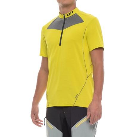 Louis Garneau Epic 2 Cycling Jersey - UPF 40, Zip Neck, Short Sleeve (For Men) in Sulphur Spring