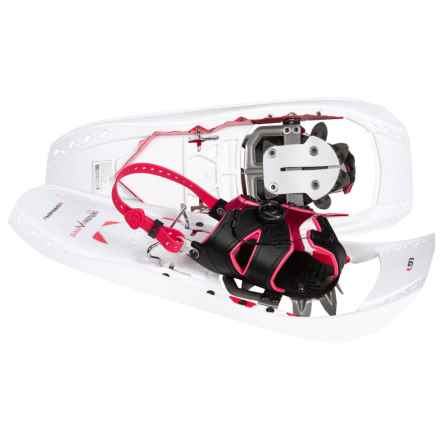 Louis Garneau Everest 822 Snowshoes in White/Red - Closeouts