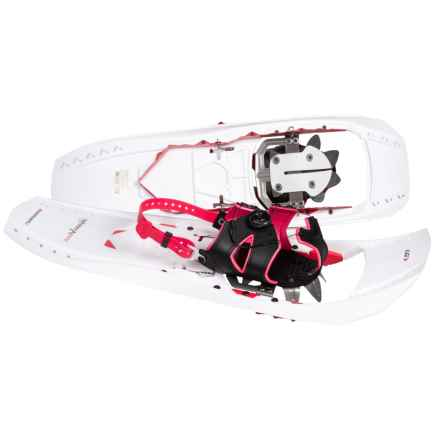 Louis Garneau Everest 827 Snowshoes in White/Red - Closeouts