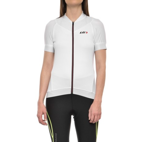 Louis Garneau Icefit 2 Cycling Jersey - UPF 50, Short Sleeve (For Women) in White