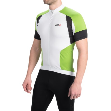 Louis Garneau Icefit Cycling Jersey Full Zip, Short Sleeve (For Men)