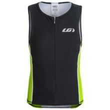Louis Garneau Jr. Comp Triathlon Jersey - UPF 50, Sleeveless (For Big Kids) in Fluorescent Green - Closeouts