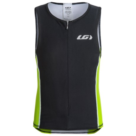 Louis Garneau Jr. Comp Triathlon Jersey UPF 50, Sleeveless (For Big Kids)