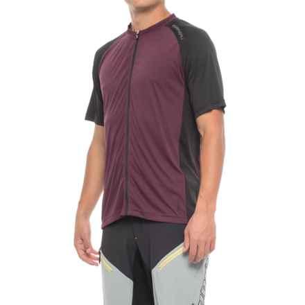 Louis Garneau Kitchell Cycling Jersey - UPF 50, Short Sleeve (For Men) in Shiraz - Closeouts