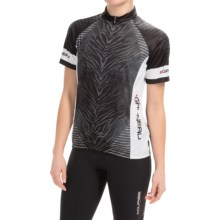 Louis Garneau Limited Cycling Jersey - UPF 30, Zip Neck, Short Sleeve (For Women) in Black - Closeouts