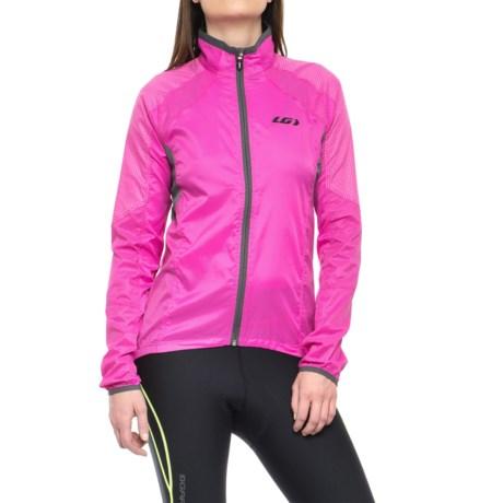 Louis Garneau Luciole RTR Cycling Jacket (For Women) in Pink Glow